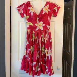 Bernie Dexter Victoria floral dress size small